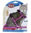 Trixie поводок+шлея My Kitty Darling 27-44 см, 10 мм