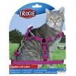 Trixie поводок+шлея Premium 26-37 см, 10 мм