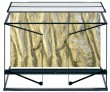 Glas terrarium, 90х45х45 см