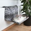 лежак для кота 58 х 30 х 38 см, леопард