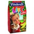 Life - корм для кроликов с бананом, 600 гр