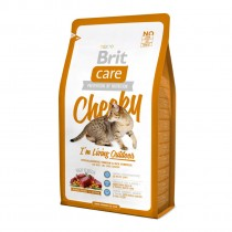 Фото 1 - Brit Care Cat Cheeky для кошек, живущих на улице 2 кг