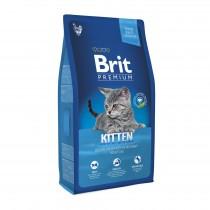 Фото 1 - Brit Premium Cat Kitten для котят от 1 до 12 месяцев  8 кг