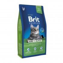 Фото 1 - Brit Premium Cat Sterilized для стерилизованных кошек 8 кг
