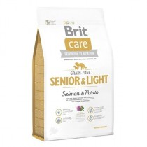 Фото 1 - Brit Care GF Senior & Light Salmon & Potato для зрелых собак  12 кг