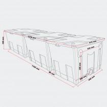 Фото 3 - SunSun проточный фильтр для пруда CBF 350C-UV