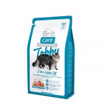 Фото 1 - Brit Care Tobby Large Cat для взрослых кошек крупных пород 2 кг