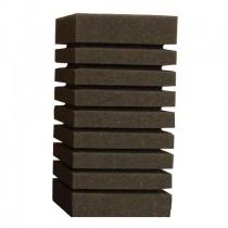Фото 1 - Resun губка прямоугольная среднепористая 10х10х15 см