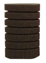 Фото 1 - Resun губка круглая среднепористая 10х20 см
