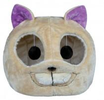 """Фото 1 - Trixie домик для кота """"Luzie"""" меховый 40 х 38 см"""