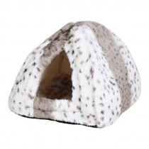 """Фото 1 - Trixie домик для кота """"Leila"""" меховый 40 х 40 х 30 см"""