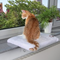 """Фото 1 - Trixie лежак для кота """"CosyPlace"""" 51 х 36 см"""
