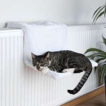 Фото 1 - Trixie лежак для кота 45 х 24 х 31 см, белый