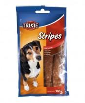 "Фото 1 - Trixie Лакомство ""Stripes "" с ягненком 100 гр"