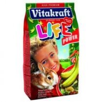 Фото 1 - Vitakraft Life - корм для кроликов с бананом, 600 гр
