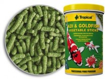 Фото 1 - Tropical Koi & Goldfish Vegetable Sticks, 21 л