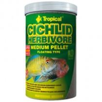 Фото 1 - Tropical Cichlid Herbivore Medium Pellet,  500 мл