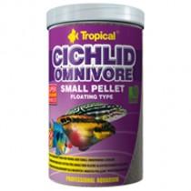 Фото 1 - Tropical Cichlid Omnivore Small Pellet, 1000 мл