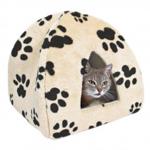 Домики и мягкие места для кошек