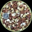 Аквариумный грунт Nechay ZOO бело-розовый средний,10 кг Nechay ZOO