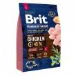 Brit Premium by Nature Junior L 3 кг