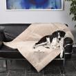 Trixie коврик King of Dogs, 100 х 70 см, бежевый