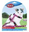 Trixie поводок+шлея для котят 21-34 см, 8 мм