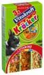 - крекер для кроликов с овощами,орехами и лесными ягодами