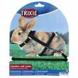 Trixie шлейка с поводком для кролика
