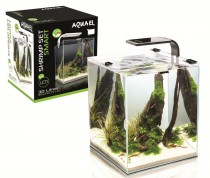 Фото 1 - Aquael Shrimp Smart Set, 30 л (белый)