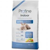 Фото 1 - Profine Profine Cat Indoor 3 кг, курица для выведения шерстяных комочков