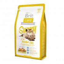 Фото 1 - Brit Care Cat Sunny для здоровья кожи и шерсти 2 кг