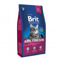 Фото 1 - Brit Premium Cat Adult Chicken для взрослых кошек 1,5 кг