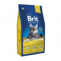 Фото 1 - Brit Premium Cat Adult Salmon для взрослых кошек 1,5 кг