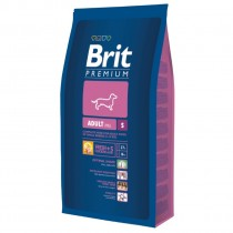 Фото 1 - Brit Premium Adult S 8 кг