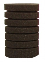 Фото 1 - Resun губка круглая среднепористая 10х15 см