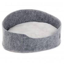"Фото 1 - Pet Fashion  Лежак ""БАЛИ"" (22*37*48), серый"