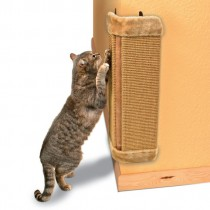 Фото 2 - Trixie Когтеточка угловая 32х60см, коричневая