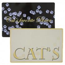 """Фото 1 - Trixie коврик под миску """"Cats favourite Diner"""""""