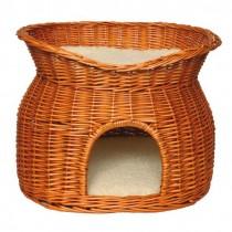 Фото 1 - Trixie дом для кота плетеный