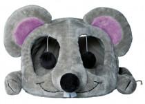 """'ото 2 - Trixie домик дл¤ кота """"Lukas"""" с др¤пкой 35 х 33 х 65 см, серый"""