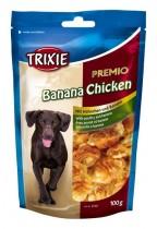"Фото 1 - Trixie Лакомство  ""Premio Banana & Chicken"" банан/курица 100 гр"