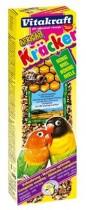 Фото 1 - Vitakraft - крекер для маленьких африканских попугаев медовый