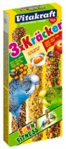 'ото 1 - Vitakraft - крекер дл¤ попугаев мед, фрукты, ¤йцо