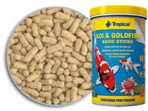 Фото 1 - Tropical Koi & Goldfish Basic Sticks, 21 л