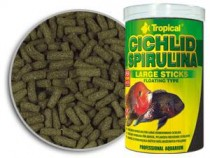 Фото 1 - Tropical Cichlid Spirulina Large Sticks,  5000 мл