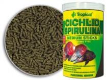 Фото 1 - Tropical Cichlid Spirulina Medium Sticks,  1000 мл