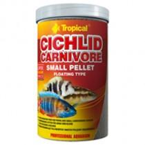 Фото 1 - Tropical Cichlid Carnivore Small Pellet 1000 мл