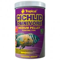Фото 1 - Tropical Cichlid Omnivore Medium Pellet,  500 мл