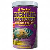 Фото 1 - Tropical Cichlid Omnivore Medium Pellet, 1000 мл